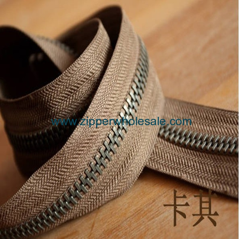 brass zippers wholesale