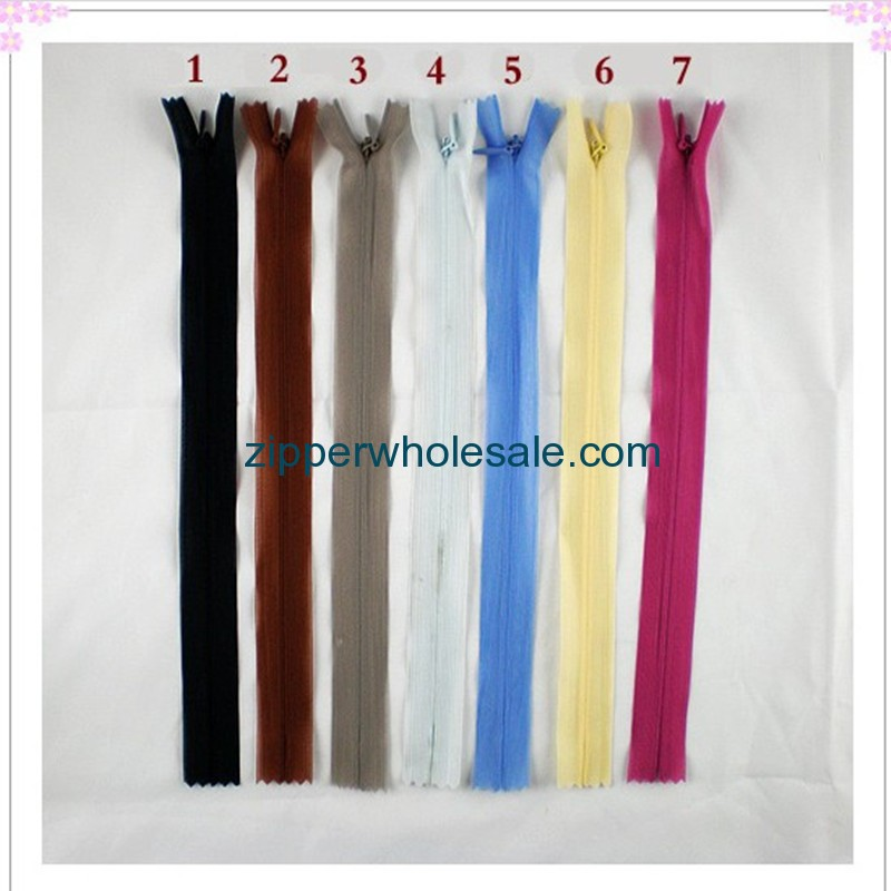 extra long invisible zippers wholesale