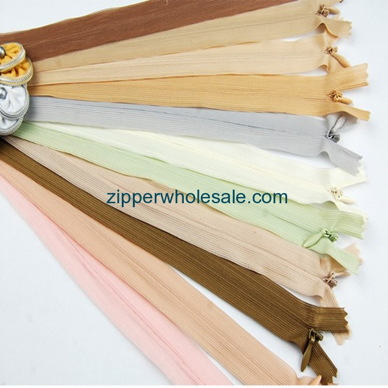 invisible separating zippers for sale