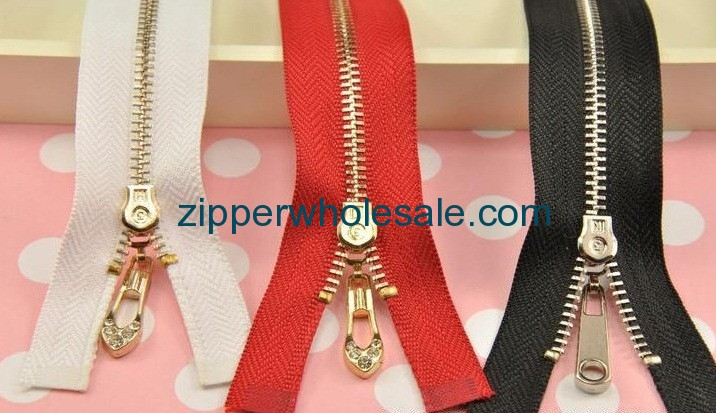 metal zippers for purses china