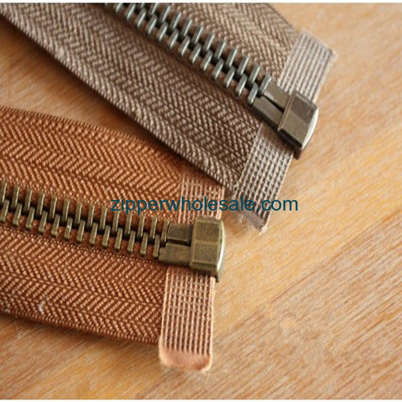 metal zippers for sale china