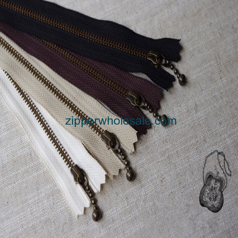 3 5 7 8 10 inch metal zippers wholesale