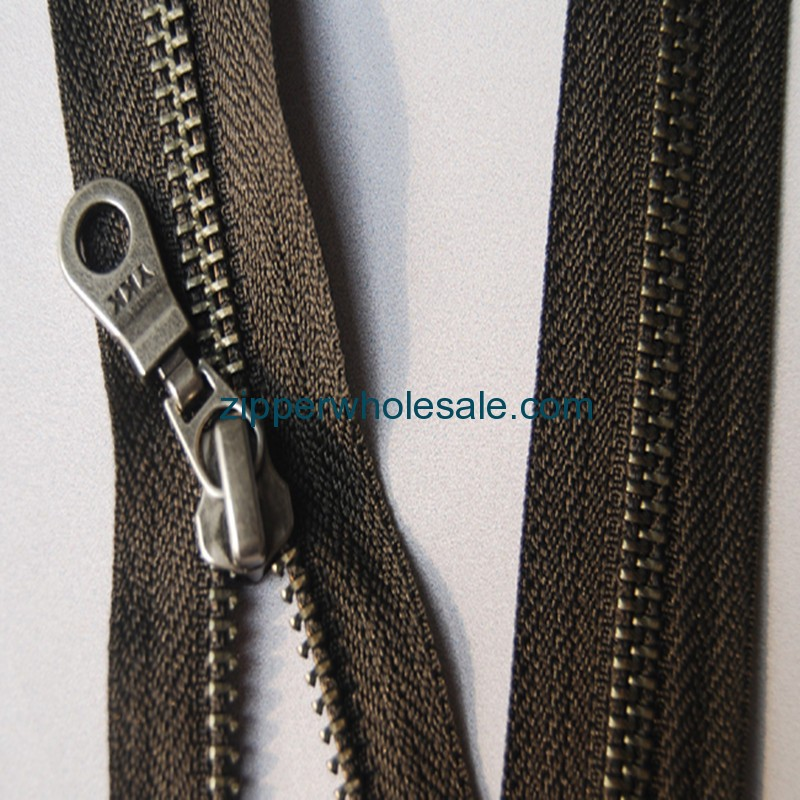 buy ykk metal zippers