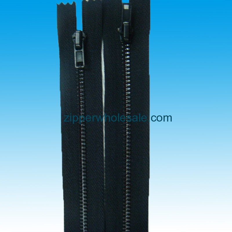 black metal zippers wholesale