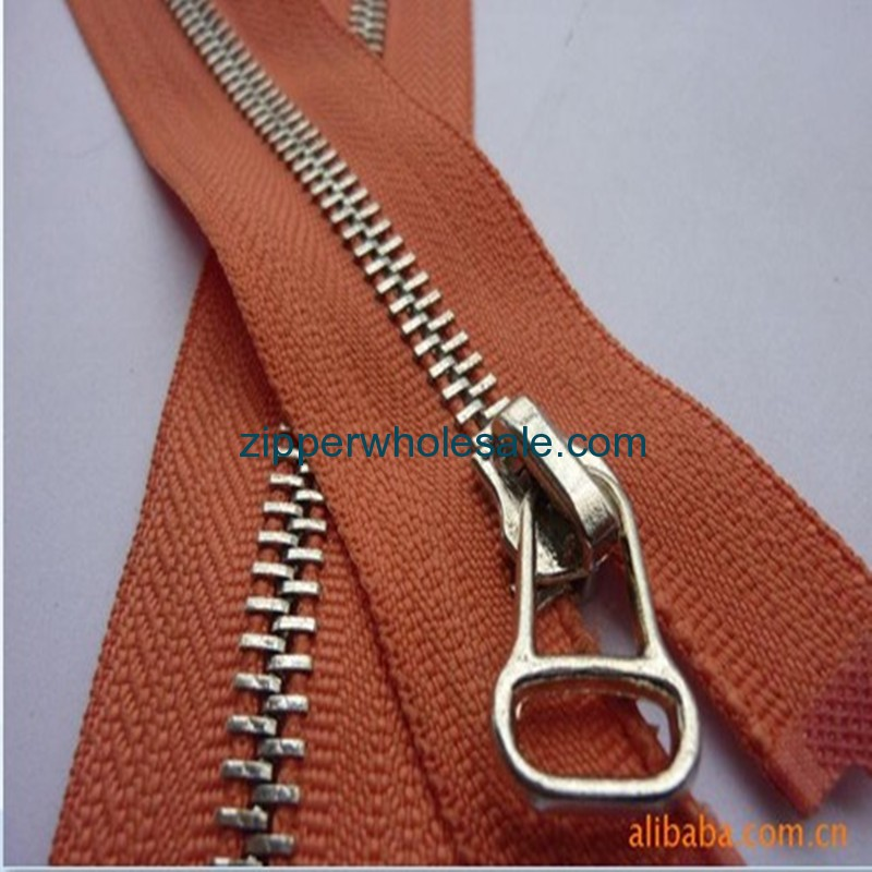 brass metal zippers in bulk