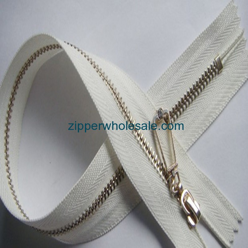 custom metal zippers wholesale