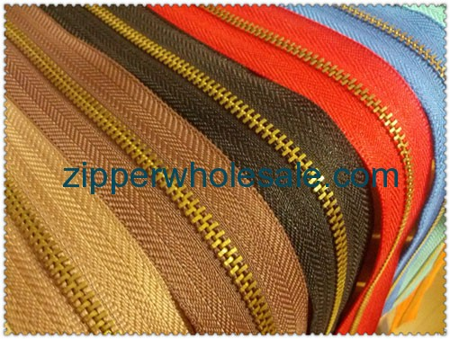 sleeping bag metal zippers