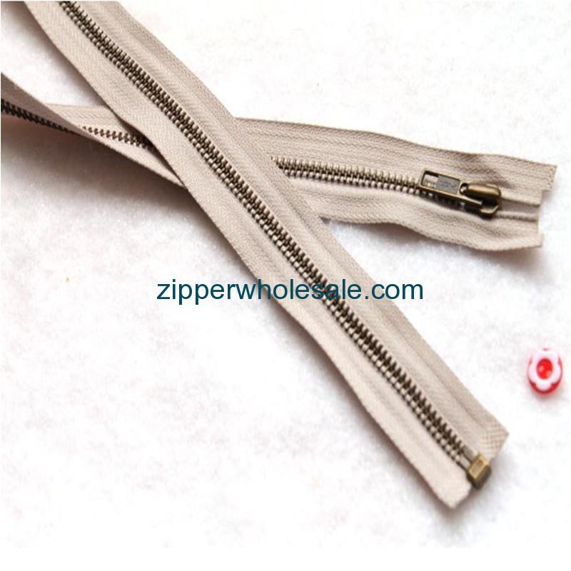 high-quality metal zippers bulk