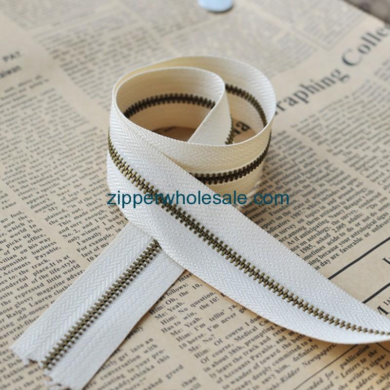industrial metal zippers wholesale