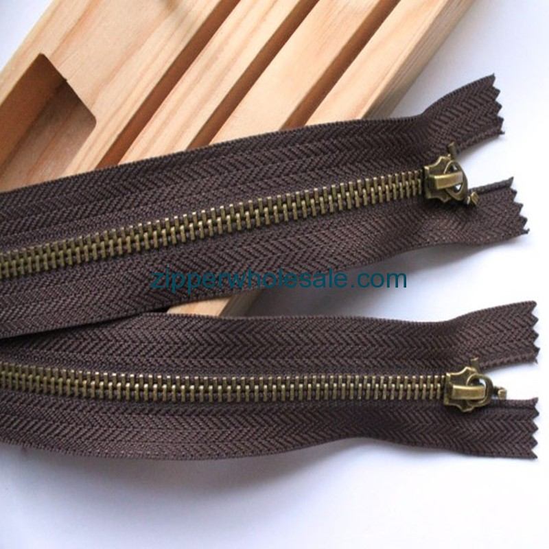 26 28 40 inch metal zippers wholesale