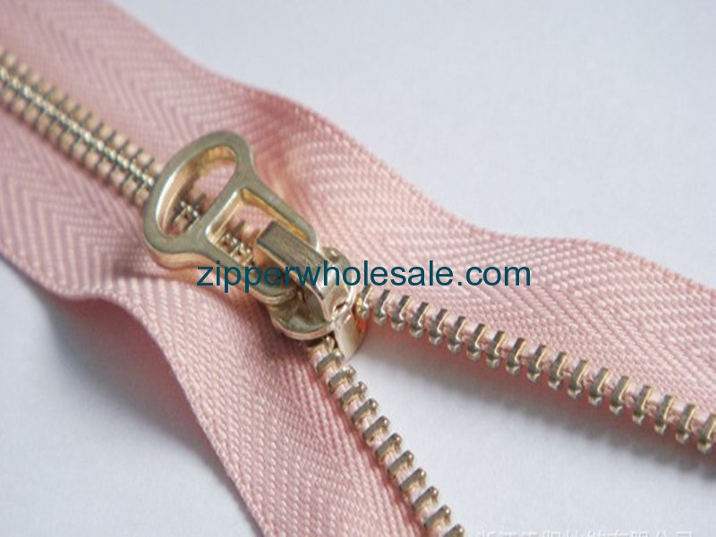 hot pink metal zippers wholesale