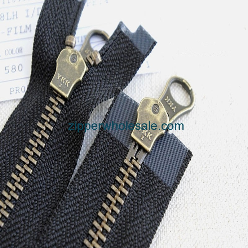 ykk metal zippers wholesale
