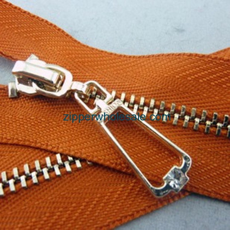 upholstery zippers metal wholesale