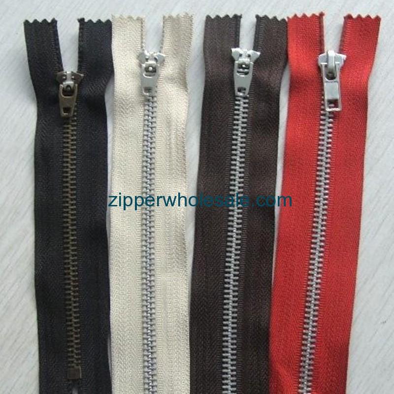 metal zippers vintage wholesale