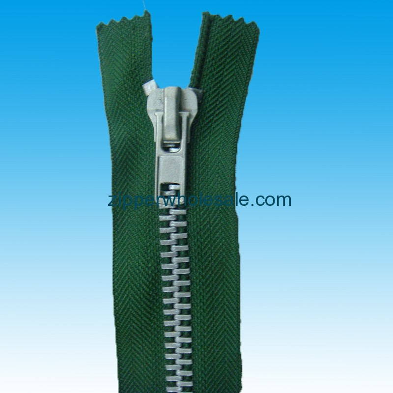 chunky metal zippers bulk