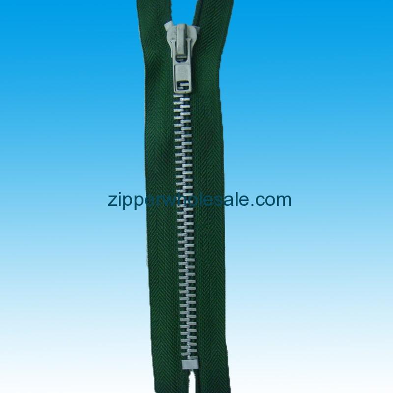 aluminum zippers wholesale