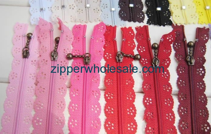 nylon upholstery zippers wholesale