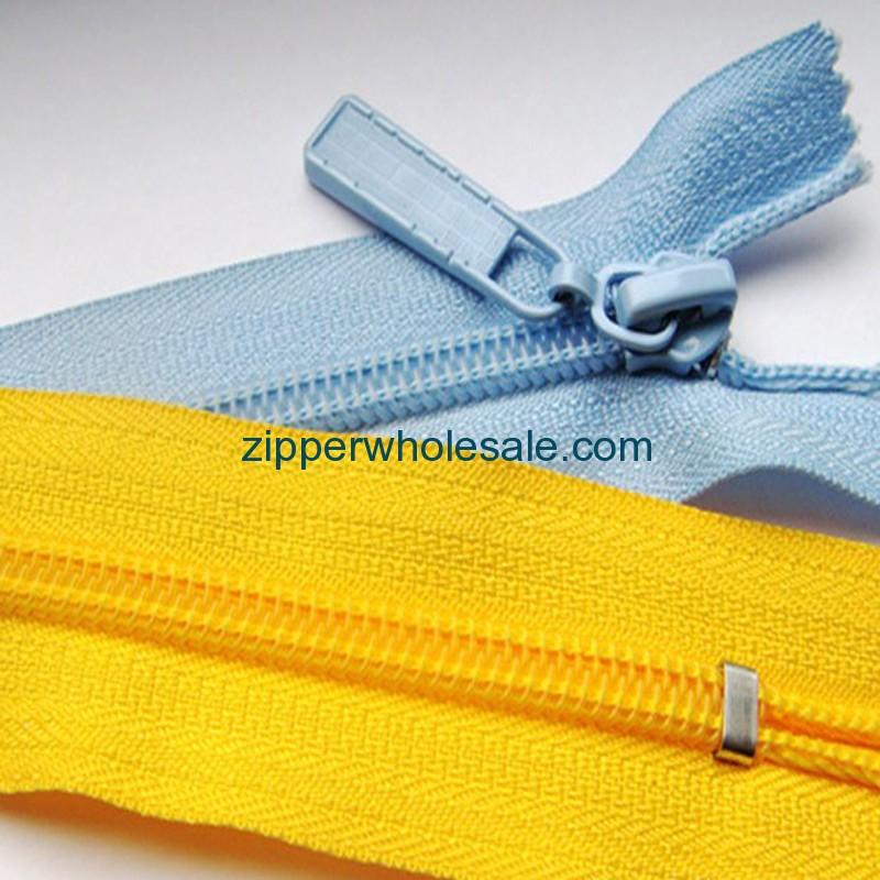 lubricating nylon zippers wholesale