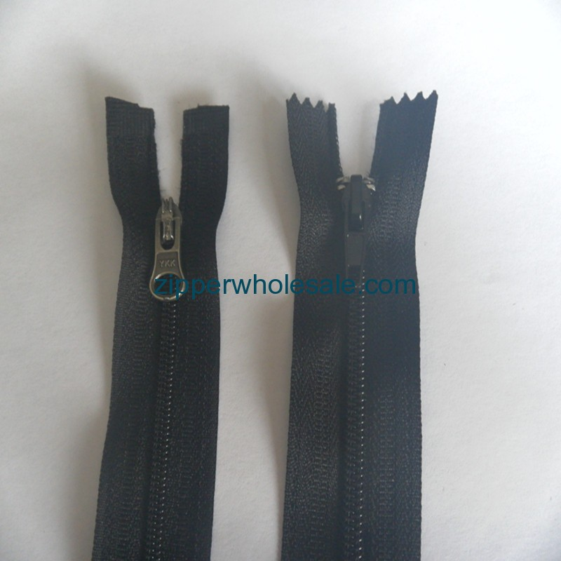 nylon jacket zippers wholesale