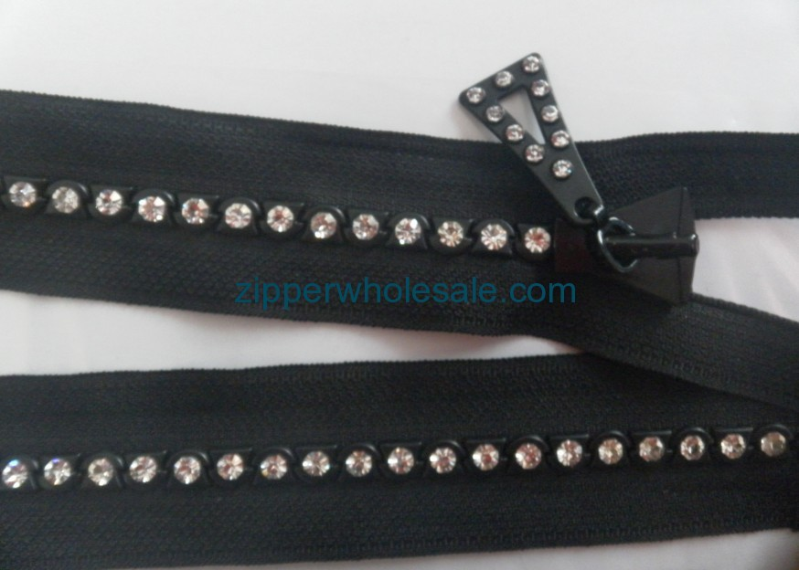 rhinestone zipper suppliers