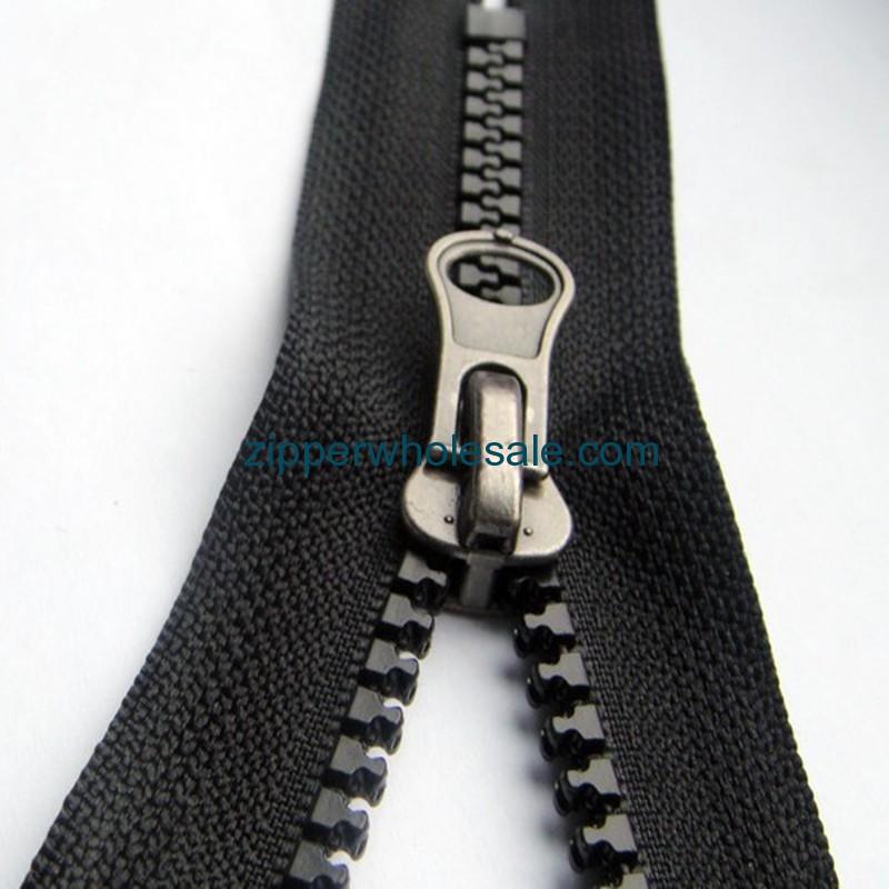 chunky plastic zippers bulk