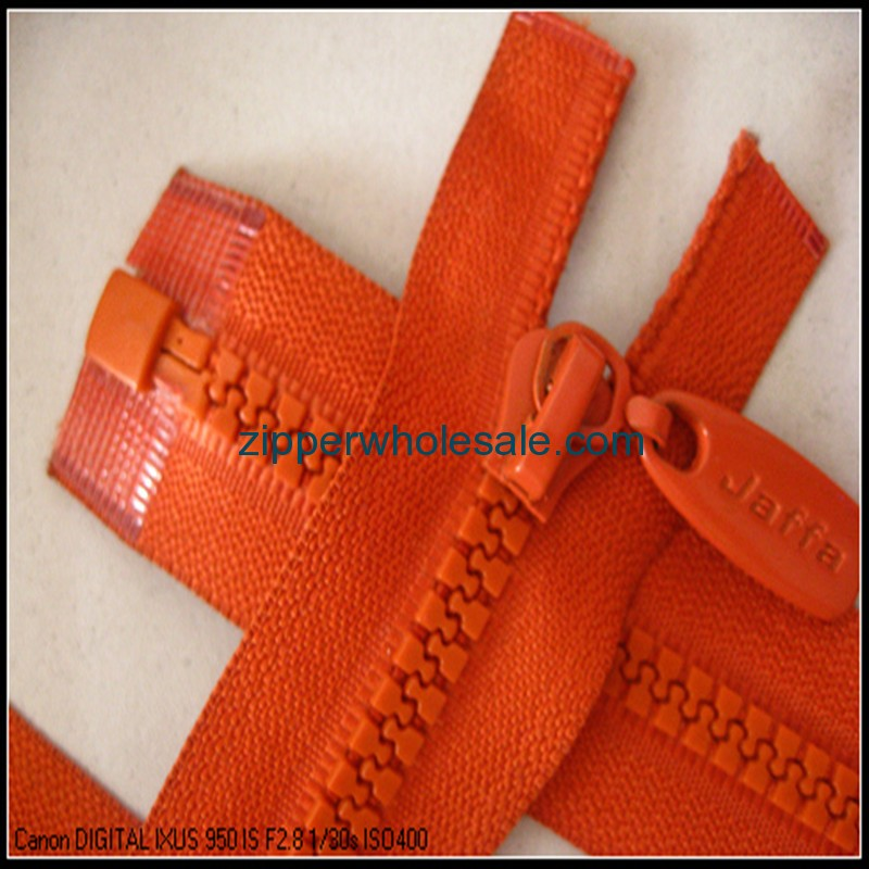 plastic zippers for jackets wholesale