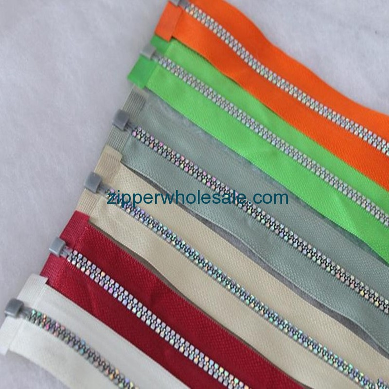 plastic molded zippers wholesale