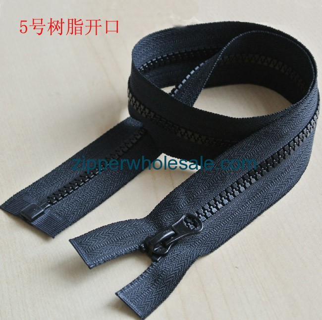 black plastic zippers wholesale