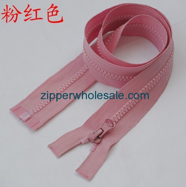 cheap plastic zippers wholesale