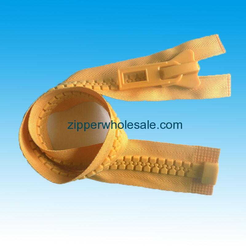 large plastic zippers wholesale