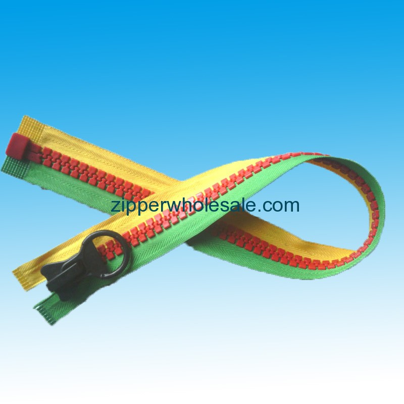 plastic zippers usa wholesale