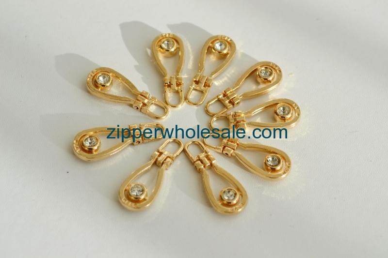 bulk decorative zipper pulls