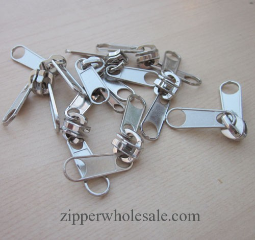double pull zipper sliders wholesale