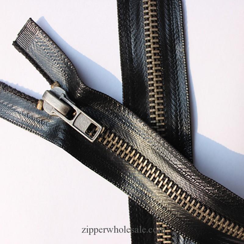 metal waterproof zippers wholesale