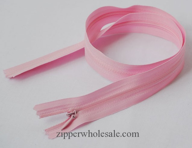 conceal zippers with fabric tape wholesale