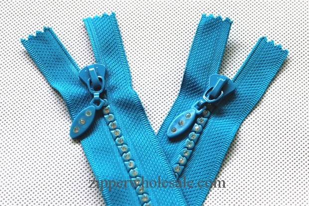 fashion diamond zippers wholesale china