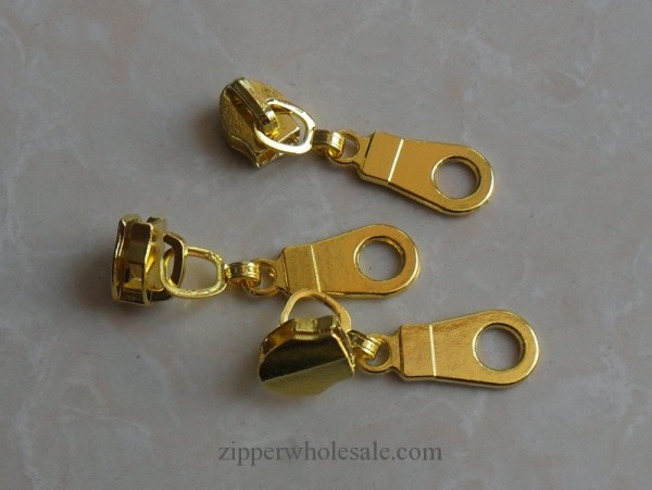 gold zipper sliders and pulls wholesale