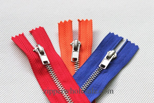 cupronickel plated teeth metal zippers wholesale