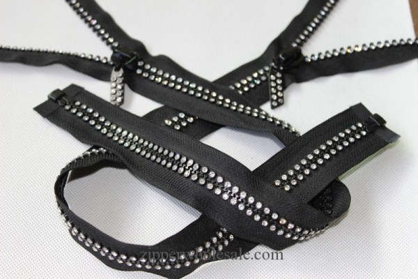 double diamond teeth zippers wholesale