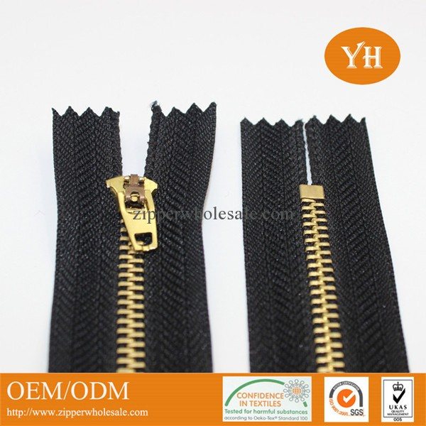 metal zipper for jeans close end brass metal zippers for jeans