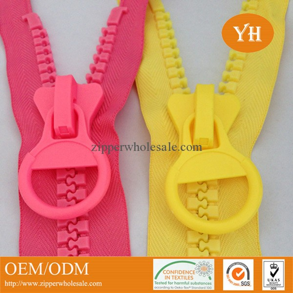 large plastic zipper giant zipper big teeth plastic zippers