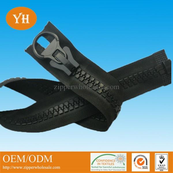 industrial heavy duty plastic zippers wholesale