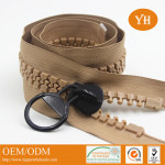 open end heavy duty plastic zippers for tents