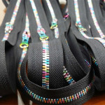 multi color metal zipper chain wholesale