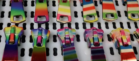 new fashion colorful zipper slider zipper puller