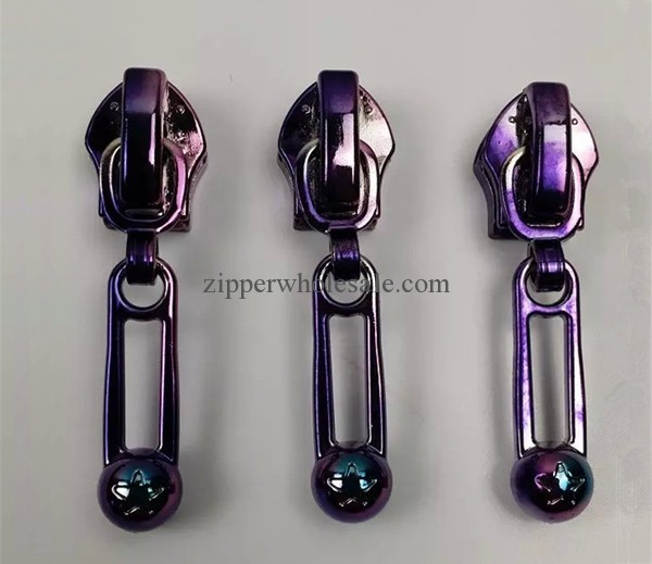 high quality ion plating zipper sliders zipper pullers