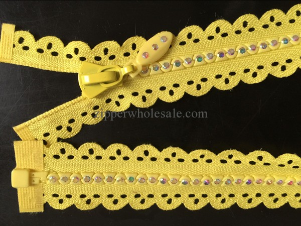 multi color rhinestone zippers colorful diamond zipper wholesale