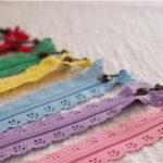 lace zippers wholesale