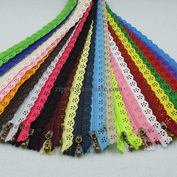 lace zippers wholesale