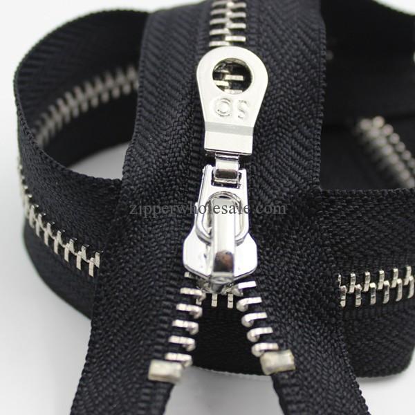 metal dress zippers wholesale